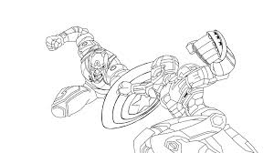 Captain america gets curb it looks like he's going to have the same color scheme in age of ultron as he did in iron man 3 so only. Fantastic Iron Man Coloring Pages Ideas Iron Man Vs Captain America Cartoon Coloring Pages Coloring Pages