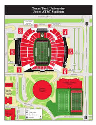 Texas Tech Jones Stadium Seating Chart 2015 Jones At T Stadium Area Map By Texas Tech Athletics Issuu