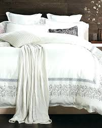 full image for off white king comforter sets silver embroidery lace bedding set queen pink and
