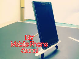 picture of diy mobile phone stand