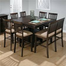 High Top Dining Table With Storage Counter Height Dining Chairs Greyson Living Acacia Twotone Dining