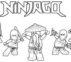 Coloring Pages Golden Ninja Coloring Pages Lego Ninjago Movie