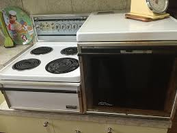 karlie s vintage metters cook n clean stove a countertop range and oven combination