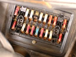 how to check mercedes w123 fuses ifixit repair guide  at Fuse Box Location 1993 Mercedes 300e 2 8