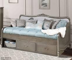 Kids Bedroom Furniture Collections Kensington Silver Finish Elizabeth Daybed 30040 Ne Kids