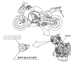 Motorcycle 2013 honda cb500f cb500x and cbr500r recalled in motorcycle basic engine diagram