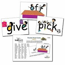 Snapwords List A Sight Word Pocket Chart Cards Picture Kids