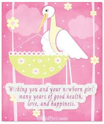 Baby Girl Card By New Baby Girl Congratulations Baby