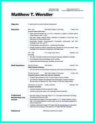 Resume Template Beautiful Resume Sample Computer Science Template