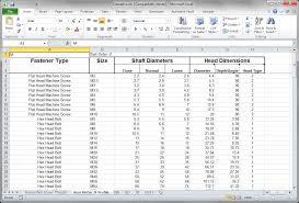 Aircraft Rivet Chart Creating A Rivet Hole Chart In Autodesk Inventor Ketiv