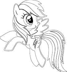 Small Picture Rainbow dash coloring pages to print ColoringStar