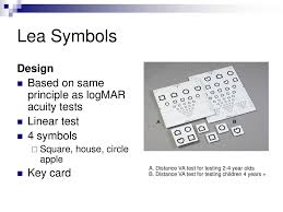 Lea Symbols Chart Printable Visual Acuity Anne Bjerre October Ppt Download