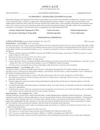 Awesome Relationship Manager Resume Corporate Banking Gallery