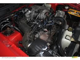 1997 Ford Mustang V6 Convertible 3.8 Liter OHV 12-Valve V6 Engine ...