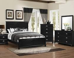 Bedroom Bedroom Furniture Sets With Bed Black Queen Size Bedroom ...