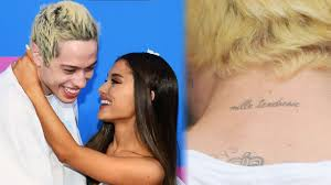 Pete Davidson Gets Another Matching Tattoo With Ariana Grande