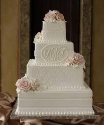 monogrammed wedding cakes. cakes by creme de la photos, favors \u0026 gifts pictures, wedding cake pictures monogrammed