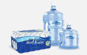 single serve bottled water and 3 and 5 gallon bottles for your home