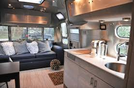 Airstream Interior Design Minimalist Custom Design Ideas