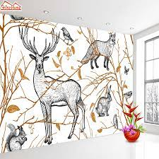 Natural Animal Tree 3d Wallpaper ...