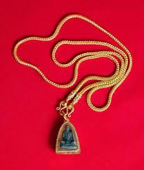 buddhist pendant cameo necklace