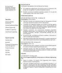 Civil Engineering Fresher Resume Format Resume Template Ideas