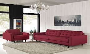Red Living Room Furniture Sets Red Living Room Chairs Zampco