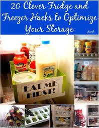 20 clever fridge and freezer hacks to optimize your storage genius ideas