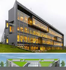 green office building. Green Roof Office Building, Istanbul Building N