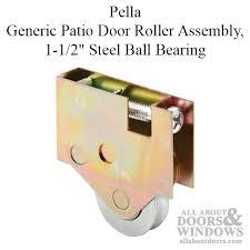 pella generic patio door roller assembly 1 1 2