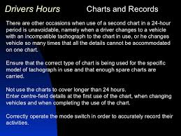 One Tachograph Chart Covers A Period Of Working Time Regulations