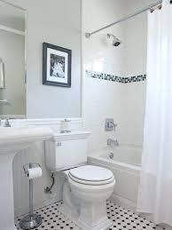 bathtub shower combo ideas example of a mid sized classic mosaic tile ceramic floor bathroom design