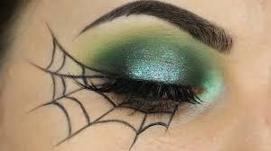 spider web makeup tutorial quick easy look