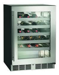 24 commercial series 45 bottle wine reserves overlay glass door