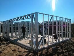 Light Steel Frame House Philippines Light Gauge Steel Framing House Structure Quick Installation Light Steel Frame Housing