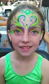 face paint face painter molly nina imagine circus cirque raleigh