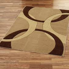 enchanting wood area rug flooring decorations with modern indoor outdoor in brown red and beige