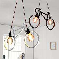 Us 611 6 Offnordic Moderne Fiets Ijzer Led Cafe Loft Plafondlamp Kroonluchter Droplight Slaapkamer Cafe Gang Winkel Home Decor Gift In