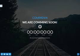 40 Free Html Coming Soon Maintenance Under Construction Website