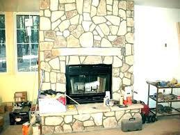 resurfacing stone fireplace refacing fireplace with stone fireplace refacing ideas modern fireplace stone fireplace refacing cost