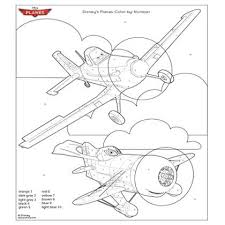 Happy color™ is a color by number game for adults. Disney S Planes Coloring Page Disney Family