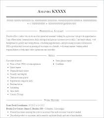 Resume Job Objective Sample Resume Career Objective Example