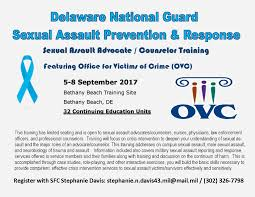 Sexual assault training for counseling professionals