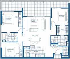 3 bedroom floorplans with three bedroom apartment plan