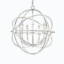 nickel orb chandelier polished nickel orb medium brushed nickel orb chandelier