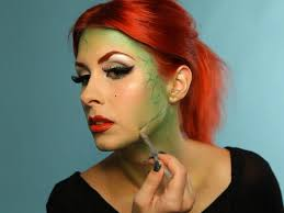 green vines for garden dess makeup tutorial