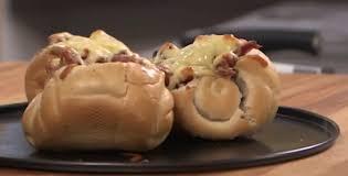 Рагу из охотничьих колбасок в хлебном горшочке рецепт с  Контрольная закупка Рагу из охотничьих колбасок в хлебном горшочке