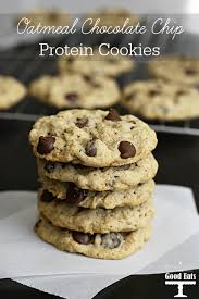 oatmeal chocolate chip protein cookies these are the best protein cookies i have tried