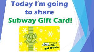 check balance on subway gift card