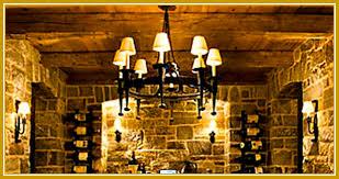 wine cellar light wall sconces